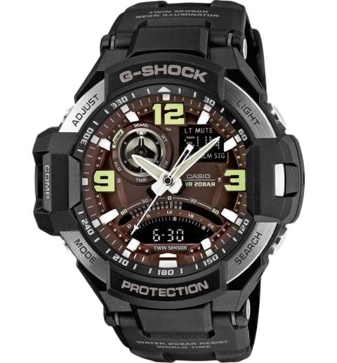 Часы Casio G-Shock GA-1000-1B с компасом