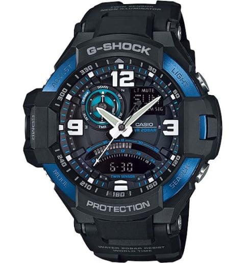 Часы Casio G-Shock GA-1000-2B с компасом