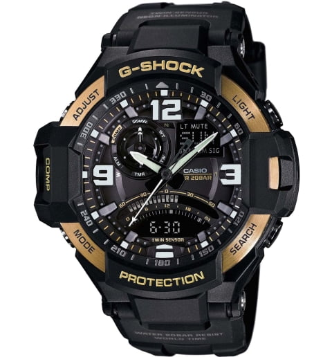 Часы Casio G-Shock GA-1000-9G с компасом
