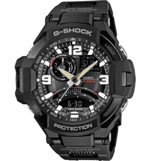 Часы Casio G-Shock GA-1000FC-1A с термометром