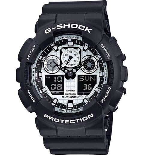 Часы Casio G-Shock GA-100BW-1A