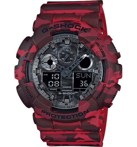 Военные часы Casio G-Shock GA-100CM-4A