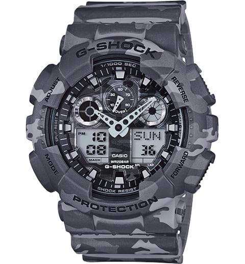 Военные часы Casio G-Shock GA-100CM-8A