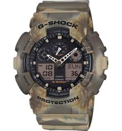 Casio G-Shock GA-100MM-5A с водонепроницаемость 20 бар