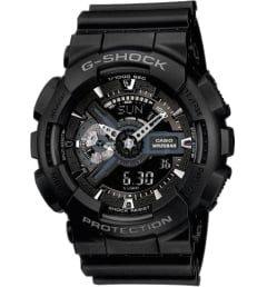Casio G-Shock GA-110-1B с секундомером