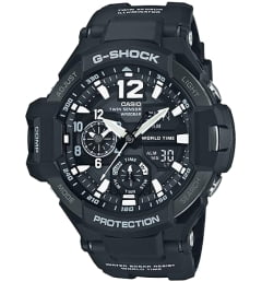 Casio G-Shock GA-1100-1A с термометром