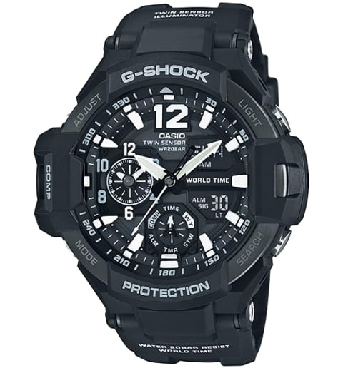 Часы Casio G-Shock GA-1100-1A с компасом