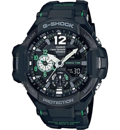 Часы Casio G-Shock GA-1100-1A3 с компасом