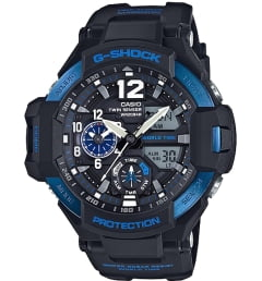 Casio G-Shock GA-1100-2B с термометром