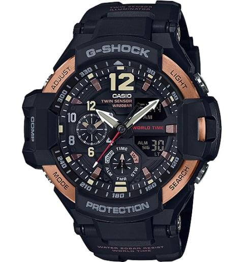 Часы Casio G-Shock GA-1100RG-1A с компасом