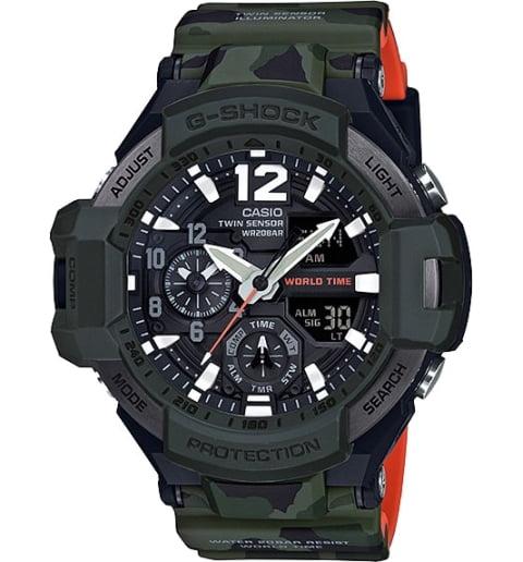 Часы Casio G-Shock GA-1100SC-3A с компасом