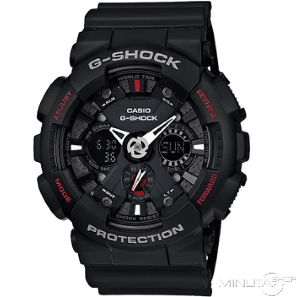 casio g-shock ga-120 инструкция на русском