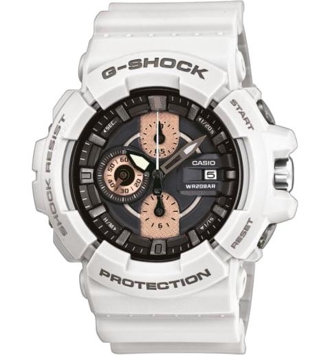 Белые часы Casio G-Shock GAC-100RG-7A