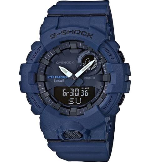 Часы Casio G-Shock GBA-800-2A с шагомером