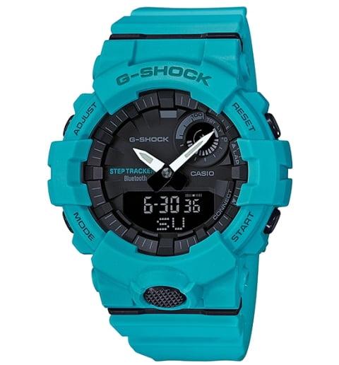 Часы Casio G-Shock GBA-800-2A2 с шагомером