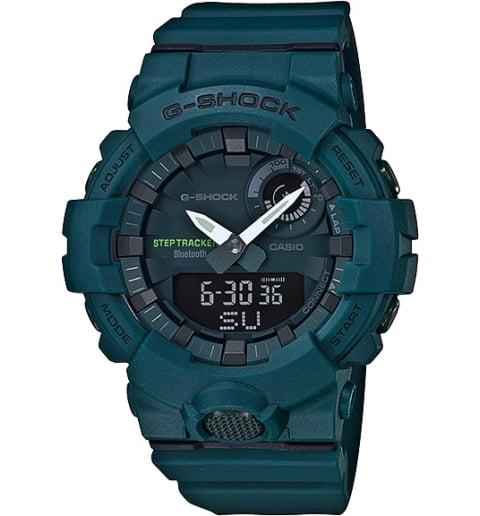 Часы Casio G-Shock GBA-800-3A с шагомером