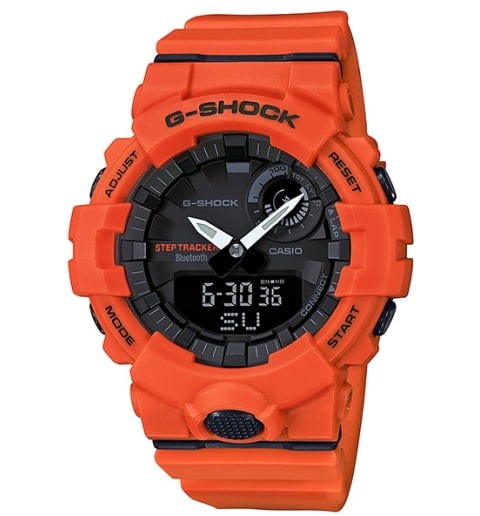 Часы Casio G-Shock GBA-800-4A с шагомером