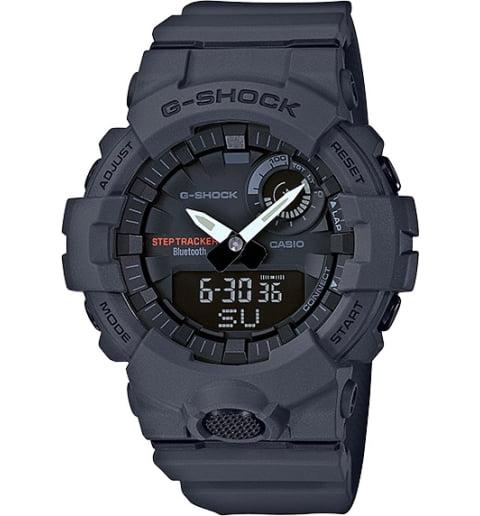 Часы Casio G-Shock GBA-800-8A с шагомером