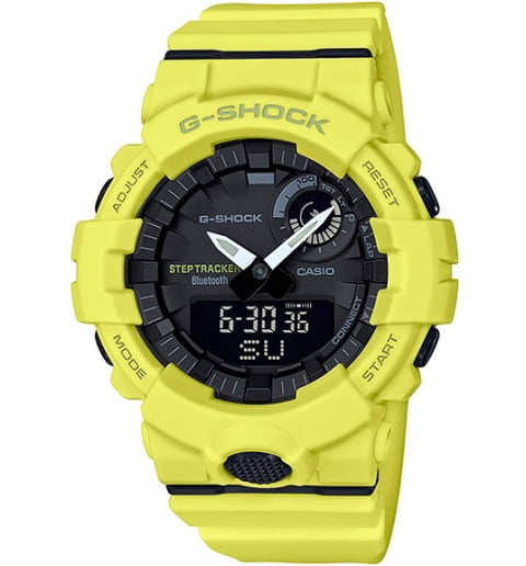Часы Casio G-Shock GBA-800-9A с шагомером