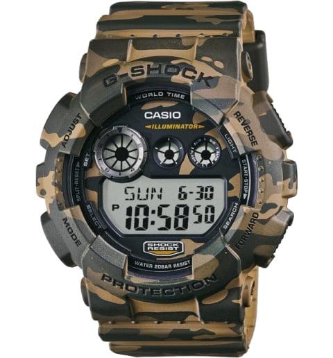 Военные часы Casio G-Shock GD-120CM-5E