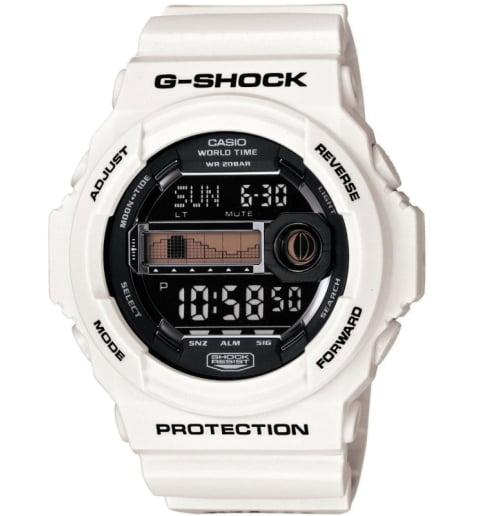 Белые часы Casio G-Shock GLX-150X-7E