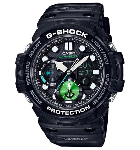 Часы Casio G-Shock GN-1000MB-1A с компасом