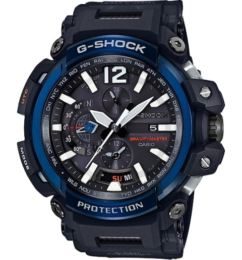 Часы Casio G-Shock GPW-2000-1A2 с Bluetooth