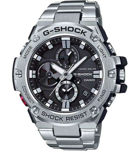 Часы Casio G-Shock GST-B100D-1A на солнечной атарее