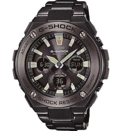 Большие часы Casio G-Shock GST-W130BD-1A