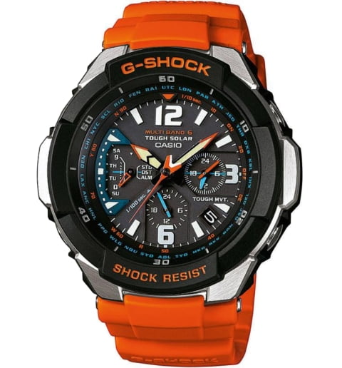 Часы Casio G-Shock GW-3000M-4A AVIATOR
