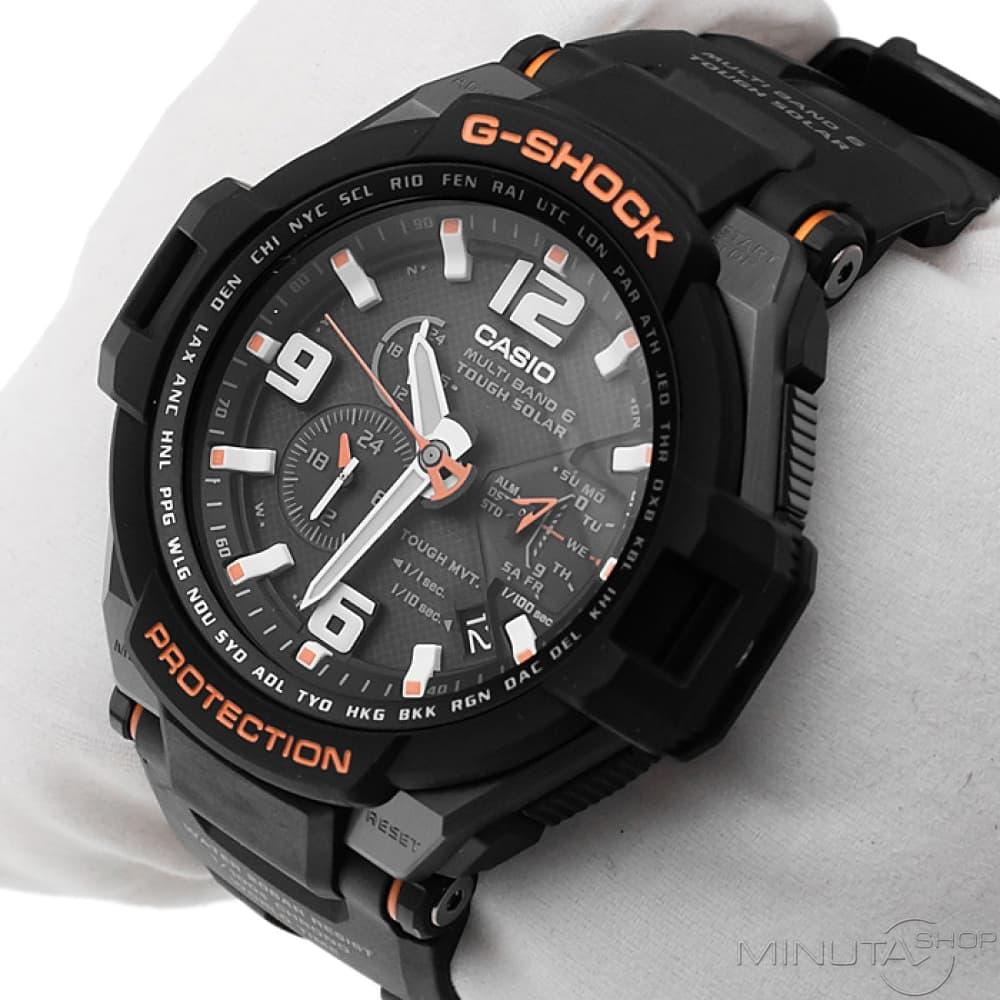 Мужские часы Casio GW-4000-1A Мужские часы Orient TT16004B