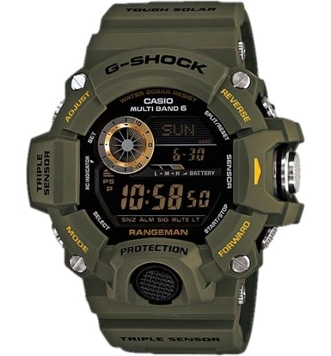 Часы Casio G-Shock GW-9400-3E с термометром