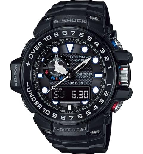 Часы Casio G-Shock GWN-1000B-1A с компасом