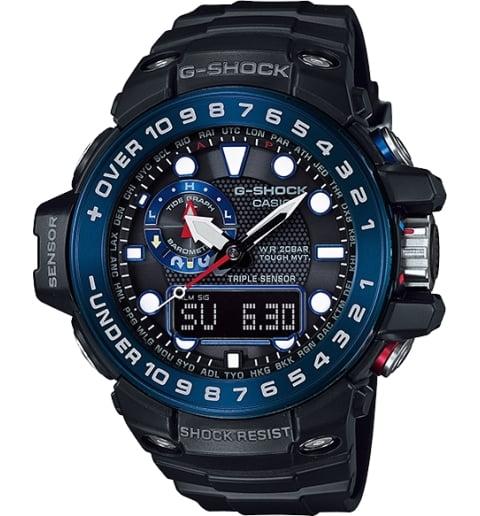Часы Casio G-Shock GWN-1000B-1B с компасом