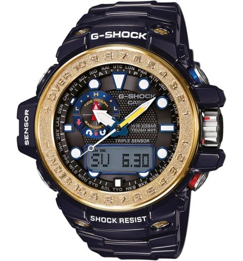 Часы Casio G-Shock GWN-1000F-2A с компасом