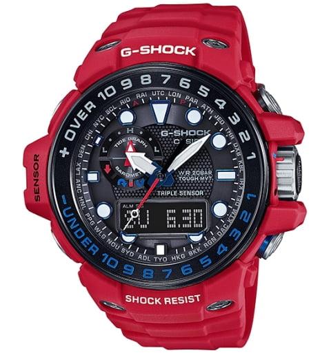 Тактические Casio G-Shock GWN-1000RD-4A