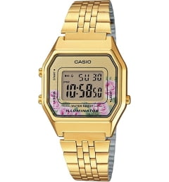 Бочкообразные Casio Collection LA-680WEGA-4C