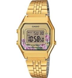 Женские Casio Collection LA-680WGA-4C с подсветкой