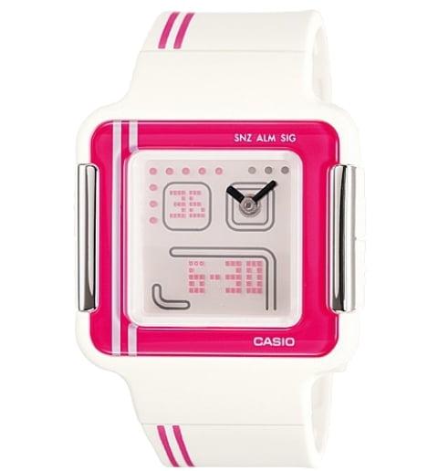 Квадратные часы Casio POPTONE LCF-21-4D
