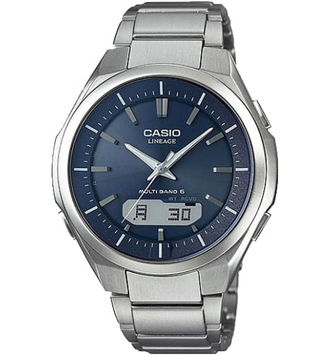 Часы Casio Lineage LCW-M500TD-2A в титановом корпусе