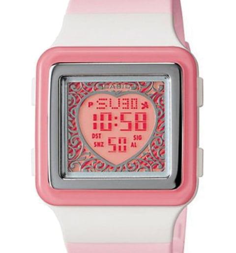 Квадратные часы Casio POPTONE LDF-21-4A