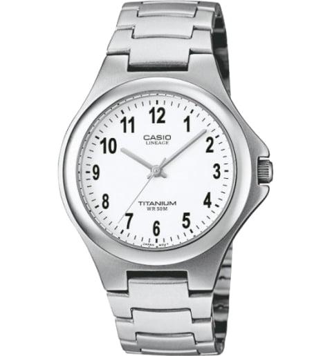 Часы Casio Lineage LIN-163-7B в титановом корпусе