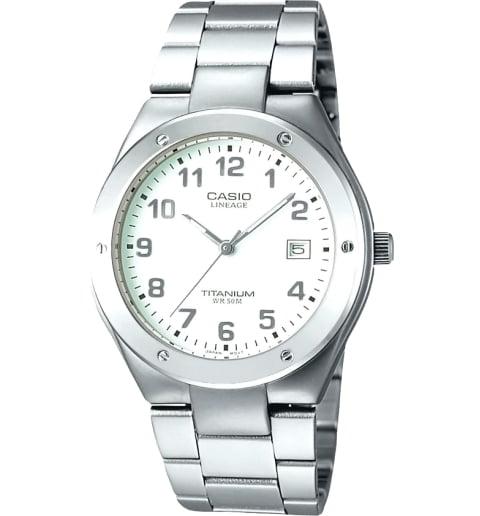 Часы Casio Lineage LIN-164-7A в титановом корпусе