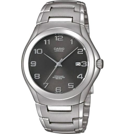 Часы Casio Lineage LIN-168-8A в титановом корпусе