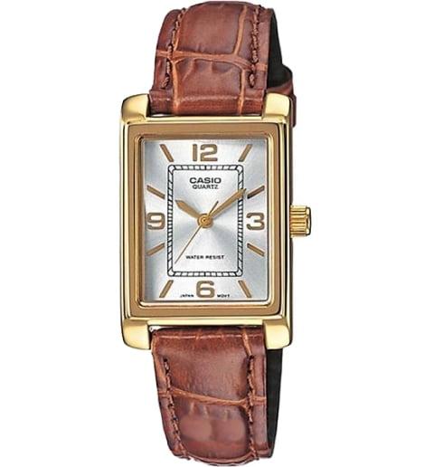Прямоугольные часы Casio Collection LTP-1234PGL-7A