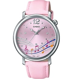 Casio Collection LTP-E123L-4A с розовым циферблатом