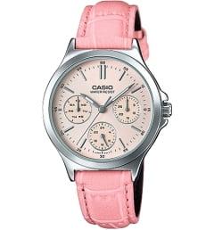 Casio Collection LTP-V300L-4A с розовым циферблатом