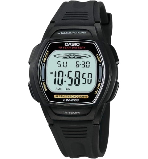 Casio Collection LW-201-1A