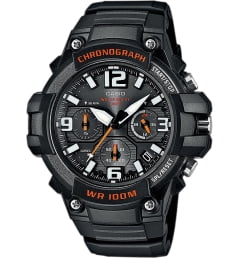 Casio Collection MCW-100H-1A с арабскими цифрами