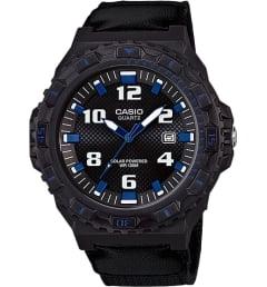 Часы Casio Collection MRW-S300HB-8B с текстильным браслетом